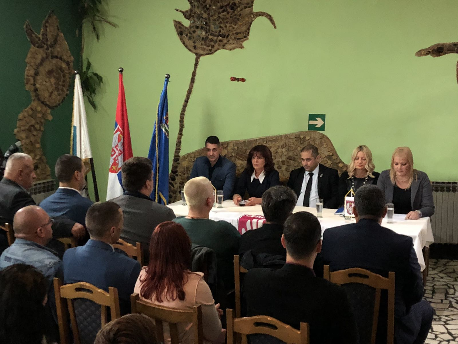 Основана Српска Десница у Нишкој Бањи, фото: М. Миладиновић