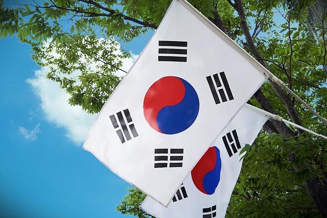 Илустрација, застава Кореа, фото: Pixabay